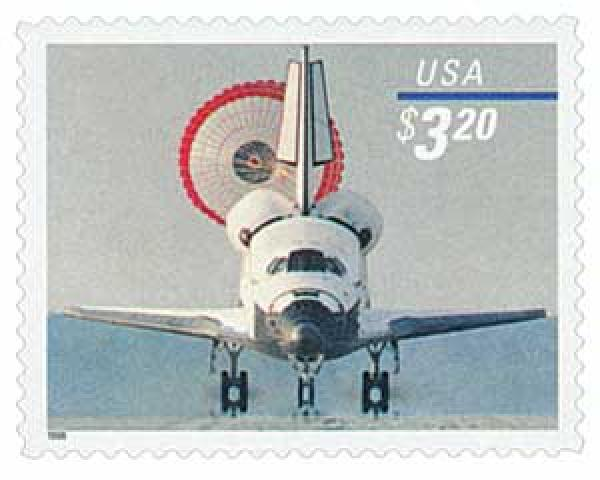 1998 $3.20 Space Shuttle Landing, Priority Mail