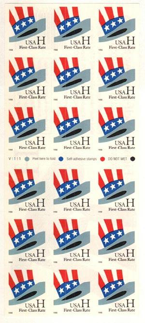 1998 H s/a bklt pn/18 (ATM pane)