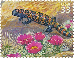 1999 33c Sonoran Desert: Gila Monster