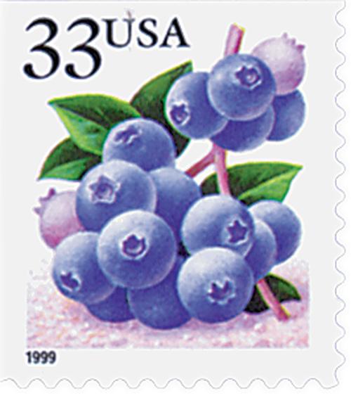 1999 33c Blueberry