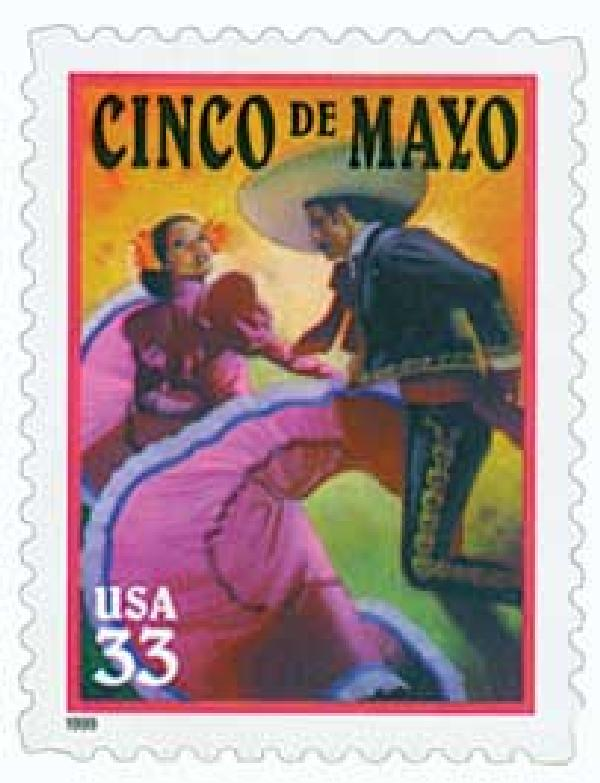 1999 33c Cinco de Mayo