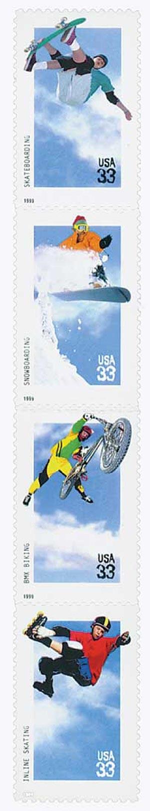 1999 33c Xtreme Sports