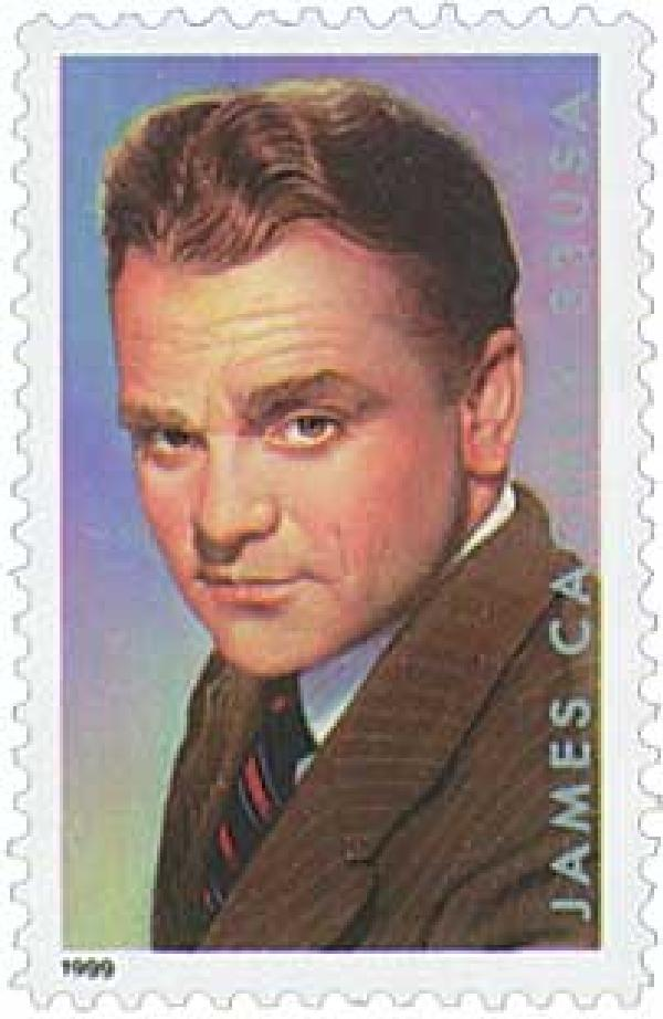 1999 33c Legends of Hollywood: James Cagney