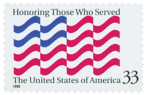 1999 Honoring Those Who Served stamp