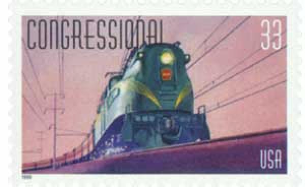 1999 33c All Aboard!: Congressional