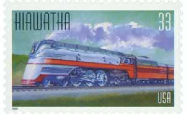 1999 33c Hiawatha