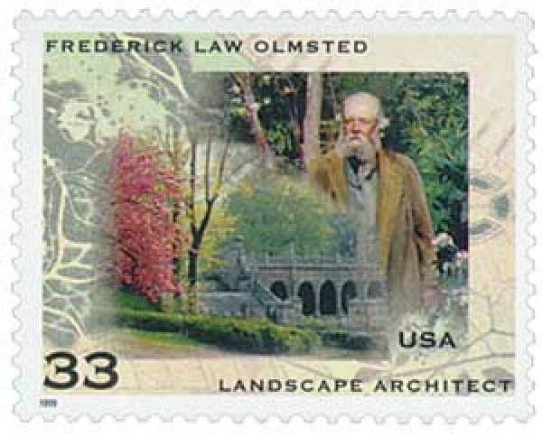 1999 33c Frederick Law Olmsted