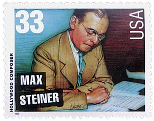 1999 33c Hollywood Composers: Max Steiner
