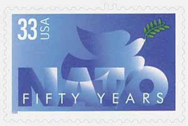 1999 33c NATO