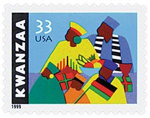 1999 33c Kwanzaa