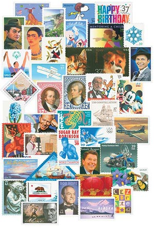 2000-09 US Commemoratives Collection, set of 1049