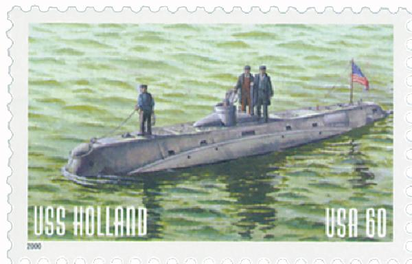 2000 60c USS Holland