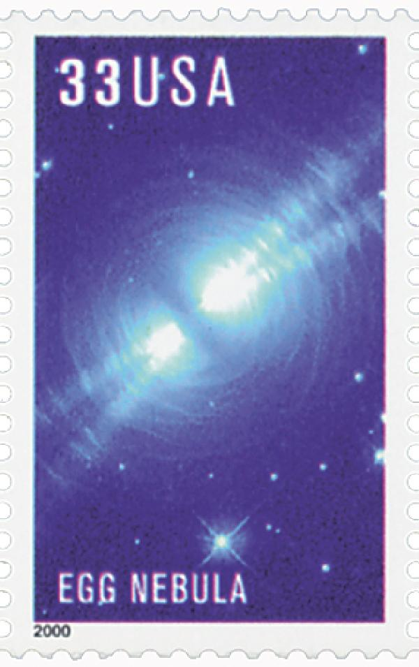 2000 33c Edwin Powell Hubble: Egg Nebula