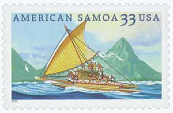 2000 33c American Samoa