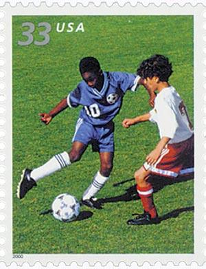 2000 33c Soccer