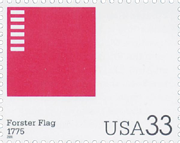 2000 33c The Stars and Stripes: Forster Flag