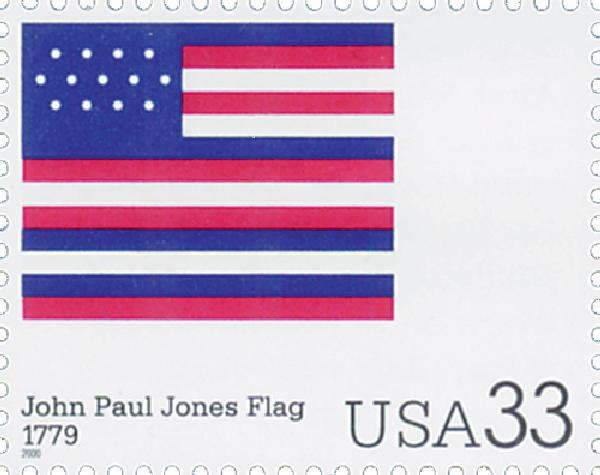 2000 33c The Stars and Stripes: John Paul Jones Flag