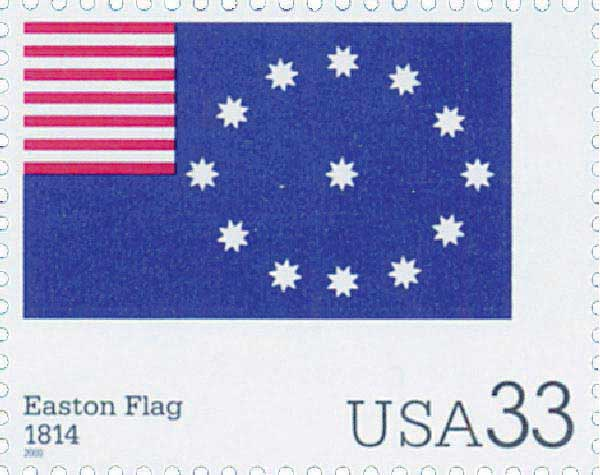 2000 33c The Stars and Stripes: Easton Flag