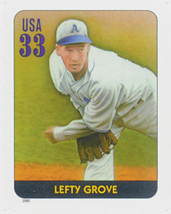 2000 33c Legends of Baseball: Lefty Grove