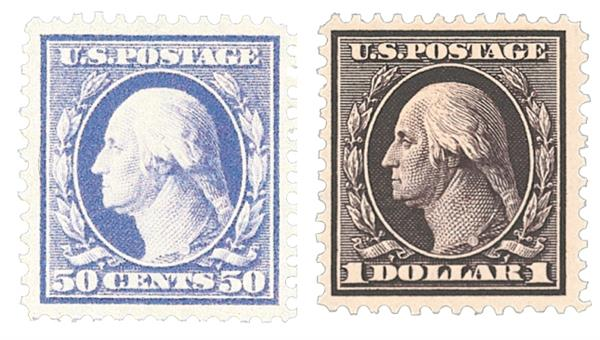 1908-09 50c-$1 Washington