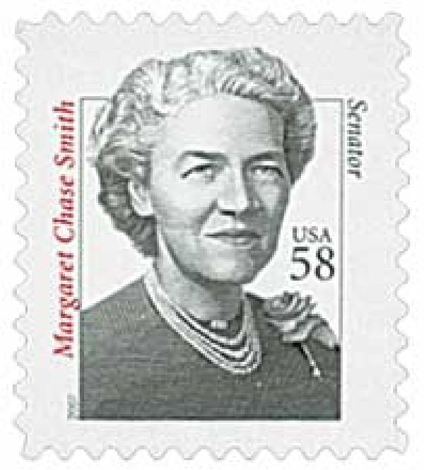 2007 58c Distinguished Americans: Margaret Chase Smith