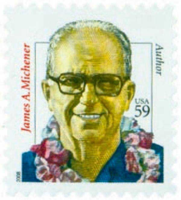 2008 59c Distinguished Americans: James A. Michener