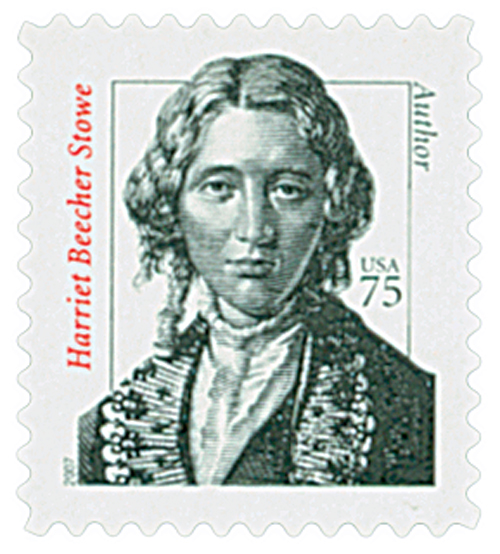 2007 75c Distinguished Americans: Harriet Beecher Stowe