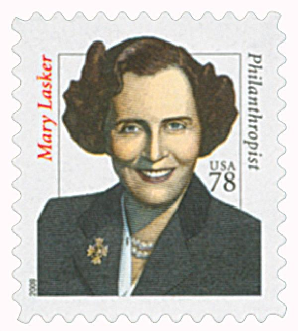 2009 78c Distinguished Americans: Mary Lasker