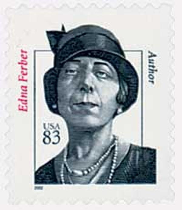2002 83c Distinguished Americans: Edna Ferber