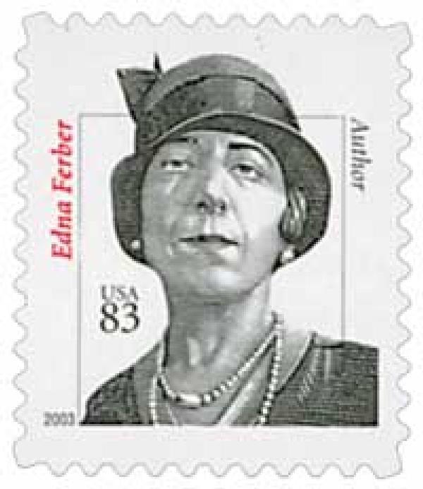 2003 83c Distinguished Americans: Edna Ferber