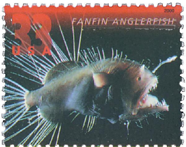 2000 33c Fanfin Anglerfish