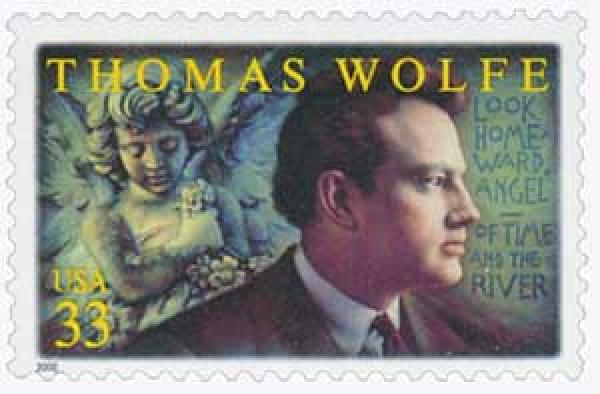 2000 33c Literary Arts: Thomas Wolfe