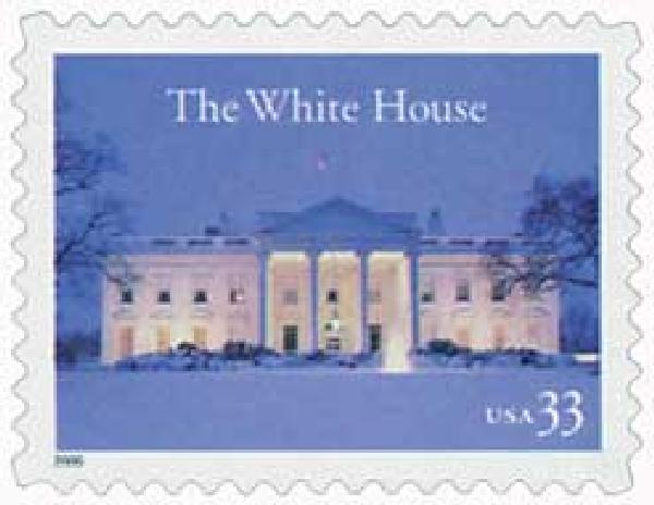 2000 33c The White House