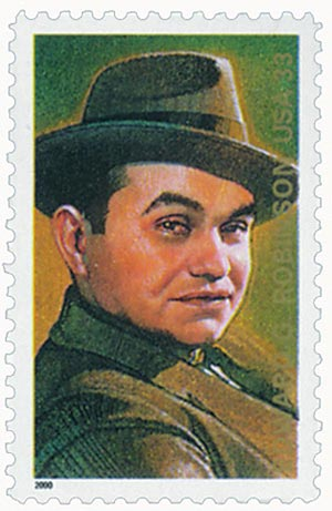 2000 33c Legends of Hollywood: Edward G. Robinson
