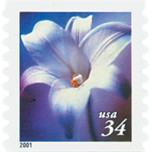 2000 34c Lilies: Longifloruim, coil