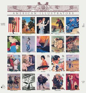 2001 34c American Illustrators