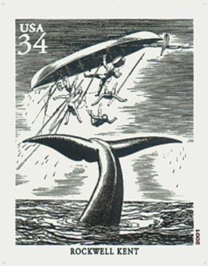 2001 34c American Illustrator R. Kent