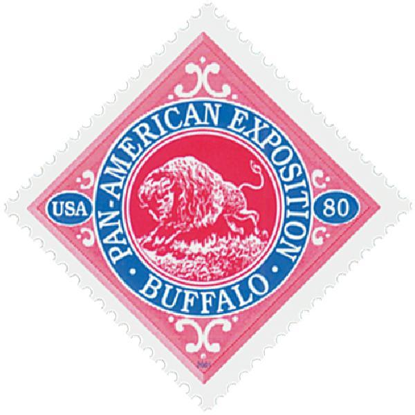 2001 80c Buffalo