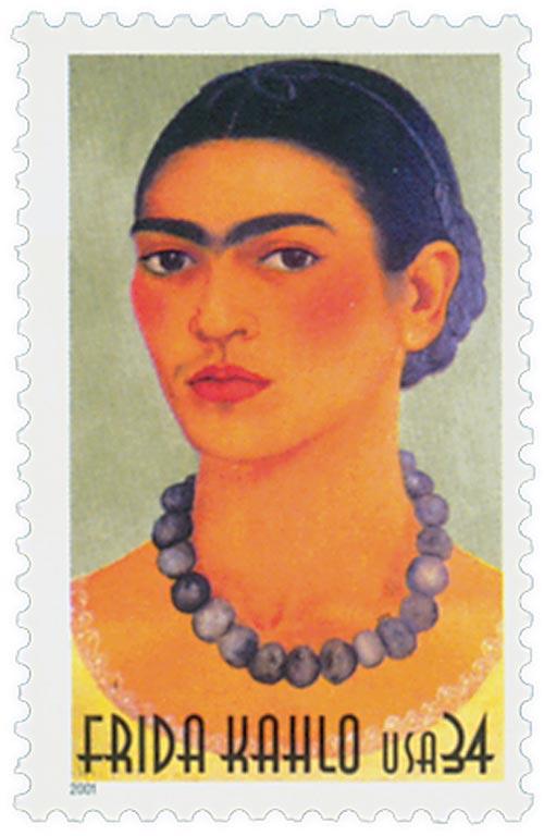 2001 34c Frida Kahlo
