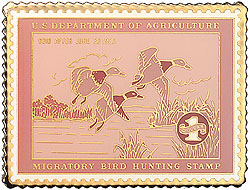 1996 1935 Federal Duck Cloisonne Medallion