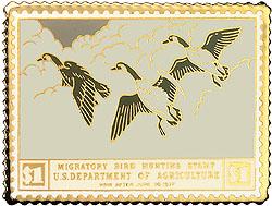 1996 1936 Federal Duck Cloisonne Medallion