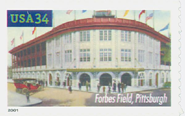 2001 34c Legendary Baseball Fields: Forbes Field
