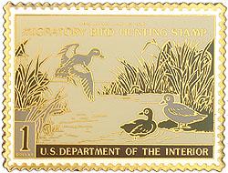 1996 1942 Federal Duck Cloisonne Medallion