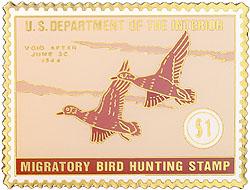 1996 1943 Federal Duck Cloisonne Medallion