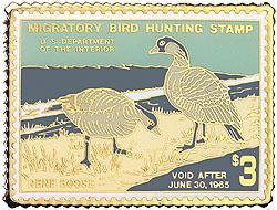 1996 1964 Federal Duck Cloisonne Medallion