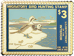 1996 1967 Federal Duck Cloisonne Medallion