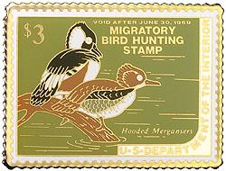 1996 1968 Federal Duck Cloisonne Medallion
