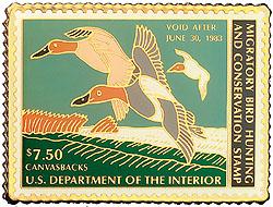 1996 1982 Federal Duck Cloisonne Medallion