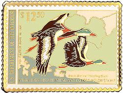 1996 1990 Federal Duck Cloisonne Medallion