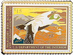 1996 1992 Federal Duck Cloisonne Medallion
